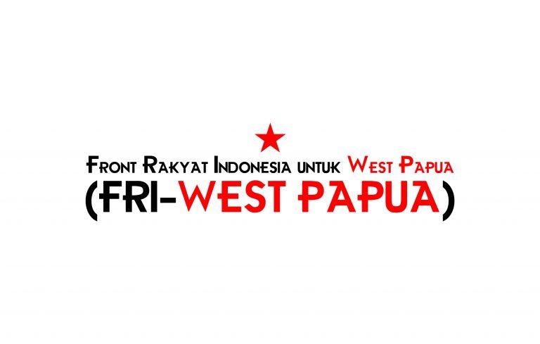Front Rakyat Indonesia untuk West Papua atau FRI - West Papua adalah Aliansi Strategis Gerakan Rakyat di Indonesia untuk mendukung Kemerdekaan Papua. @FRI-West Papua